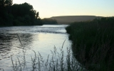 Evening on the South Fork of the Snake River