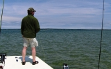 Fishing the Flats for Striped Bass