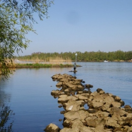 Spring 2010, fishing for bream and trout.